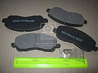 Колодка тормозная MITSUBISHI GALANT передн. (производство Intelli), ABHZX