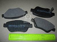 Колодка тормозная MAZDA 6 передн. (производство Intelli) (арт. D207E), ABHZX