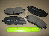 Колодка тормозная передняя (производство Intelli) (арт. D241E), ACHZX