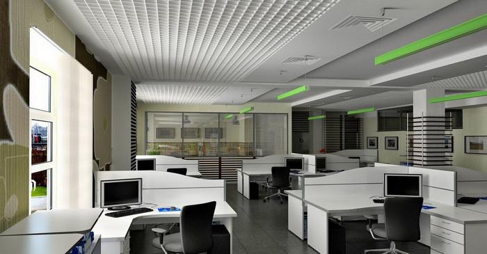 Управления климатом в офисном помещение 400м.кв