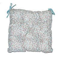 Подушка на стул Цветы-Тифани