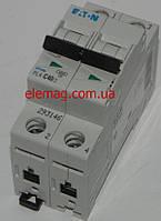 Автоматический выключатель Moeller PL 4-C 40А/2