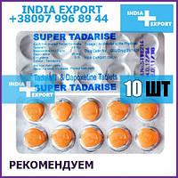SUPER TADARISE   Тадалафил 20 мг + Дапоксетин 60 мг   10 таб - Пролонгатор дженерик сиалис poxet 30