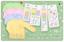 Детская рубашка на кнопках, интерлок. РБ 1
