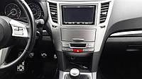 Рамка магнитолы Subaru Legacy, Outback B14, 2009-2014, 66064AJ020