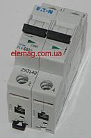 Автоматический выключатель Moeller PL 4-C 63А/2