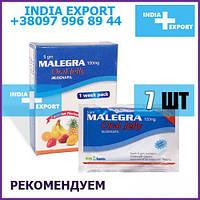 Сладкая Виагра MALEGRA ORAL JELLY Силденафил 7 стиков Viagra Желе Гель