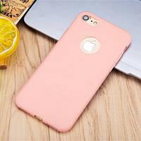 Чехол силиконовый для iPhone 6s Plus и 7/8 Plus розовый