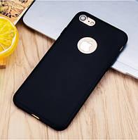 Чехол силиконовый для iPhone 6s Plus и 7/8 Plus черный