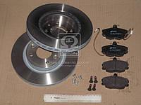Комплект тормозной передн. DACIA LOGAN 04, CLIO, SANDERO, MEGANE 96-  (пр-во REMSA), AFHZX