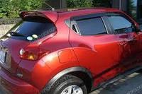 Спойлер Nissan Juke оригинал красный