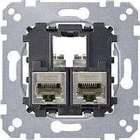 Механизм компьютерной розетки RJ45 cat.5e (STP) Merten MTN4575-0012