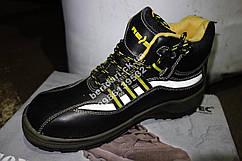 Рабочие мужские ботинки с противопрокольною стелькою (спецобувь) BRSTAPLER BSY