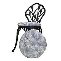 Подушка на стул круглая Allure Розы