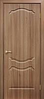 Двери ламинированные пленкой ПВХ  Прима ПГ дуб золотой