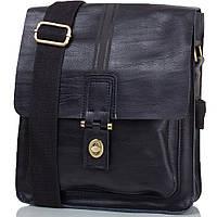 Мужская кожаная сумка Bally черная