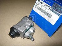 Цилиндр тормозной задний правый (производство Mobis) (арт. 5838002000), ACHZX