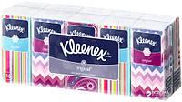 Носовые платочки Kleenex Original двухслойные 10 шт х 10 пачек