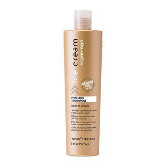 Шампунь с аргановым маслом для окрашенных волос Inebrya Argan Oil Pro Age Shampoo, 300 мл.
