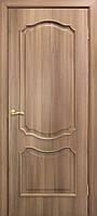 Двери ламинированные пленкой ПВХ Прованс ПГ дуб золотой