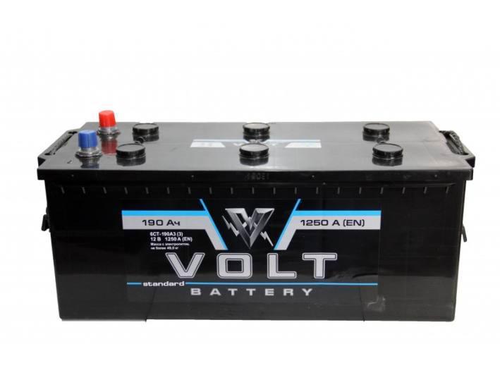 Аккумулятор VOLT 6СТ-140-АЗ (3)