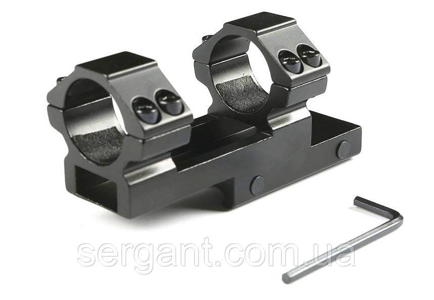 Кольца-моноблок консольные для оптического прицела 25мм