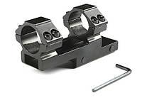 Кольца-моноблок консольные для оптического прицела 25мм, фото 1