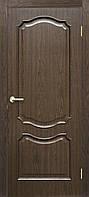 Двери ламинированные пленкой ПВХ Прованс ПГ каштанг