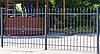 Сварной забор с ковкой