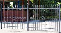 Сварной забор с ковкой, фото 1