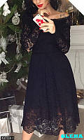 Шикарное гипюровое платье