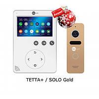 Комплект видеодомофона NeoLight Tetta+ / NeoLight Solo Gold