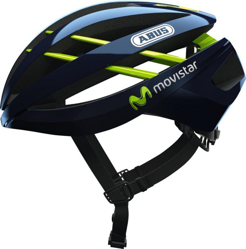 Велосипедный шлем Abus Aventor Movistar Team L