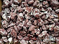 """Натуральный камень Мрамор Греция """"Мраморная галька розовая"""" фракция 2-4 см"""