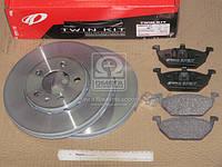 Комплект тормозной передн. SEAT TOLEDO 99-;SKODA OCTAVIA 96-;VW BORA 99-,GOLF 97- (пр-во REMSA), AFHZX