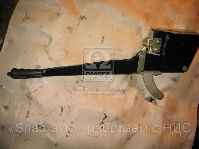 Рычаг тормоза стояночного ГАЗ 3307,3309 в сборе (производство ГАЗ) (арт. 33078-3508015), AFHZX