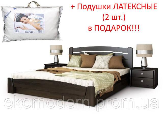Кровать СЕЛЕНА Аури (160х200 см) с подьемным механизмом + подушки ЛАТЕКСНЫЕ (2 шт) в подарок