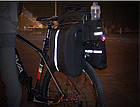 Велосумка на багажник RockBros черная (эксклюзивная серия -карбон), фото 2