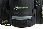 Велосумка на багажник RockBros черная (эксклюзивная серия -карбон), фото 6
