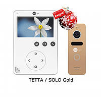 Комплект видеодомофона NeoLight Tetta / NeoLight Solo Gold