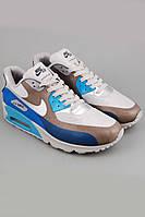 Мужские кроссовки Nike Air Max 90 Hyperfuse Blue/Grey