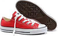 "Кеды Converse Chuck Taylor All Star Low ""Red/White"""