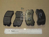 Колодка торм. MITSUBISHI LANCER (CS) 06/2003- передн. (пр-во REMSA) 0965.01, AEHZX