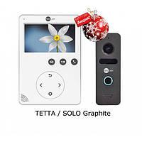 Комплект видеодомофона NeoLight Tetta и NeoLight Solo Graphite