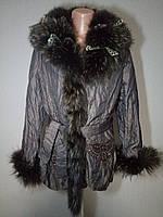 Куртка - шуба из натурального кролика