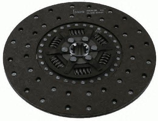 Диск сцепления MB 711-814 OM364-366 94/Tata (310mm)