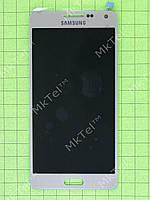 Дисплей Samsung Galaxy A5 SM-A500 с сенсором Копия ААА Золотистый