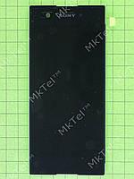 Дисплей Sony Xperia XA1 Dual G3112 с сенсором Оригинал элем. Черный