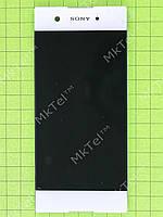 Дисплей Sony Xperia XA1 Dual G3112 с сенсором Оригинал элем. Белый