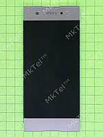 Дисплей Sony Xperia XA1 Dual G3112 с сенсором Оригинал элем. Золотистый